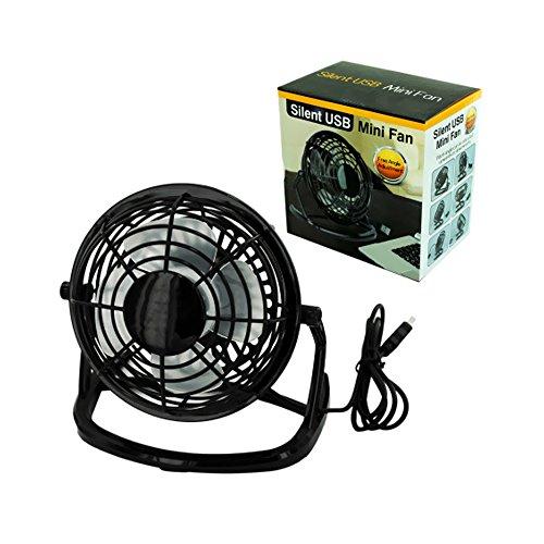 Bulk Buys Electronics Silent Usb Mini Plastic Fan Pack Of 4
