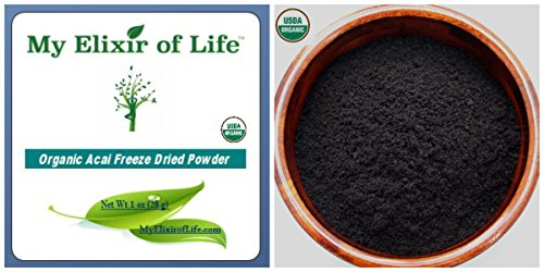 100% Organic Pure Freeze Dried Acai Berry Powder 1 oz (Freeze Dried Beet Powder compare prices)