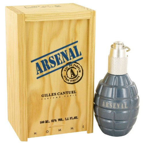 Arsenal Blue By Gilles Cantuel For Men. Eau De Parfum Spray 3.4 Oz. сумка 3326 2014 puma