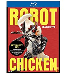 Robot Chicken: Season Five [Blu-ray]