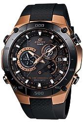 Casio Edifice Black Dial Black Resin Quartz Men's Watch EQWM1100CG-1