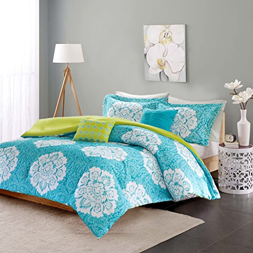 Light Teal Bedding Electric Blue Duvet Cover Grey And