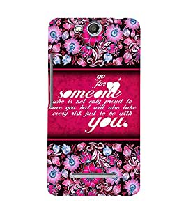Go For Love Someone 3D Hard Polycarbonate Designer Back Case Cover for Micromax Canvas Juice 3+ Q394 :: Micromax Canvas Juice 3Plus Q394