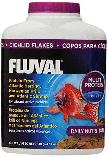 140Gm Fluval Cichlid Flakes, 4.94-Ounce