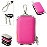 New first2savvv outdoor heavy duty pink camera case for Canon IXUS 105 HS