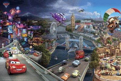 disney-cars-2-poster-affiche-61-x-91-cm-world-tour