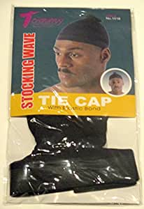 Amazon Com Tommy Stocking Wave Tie Cap With Elastic Band