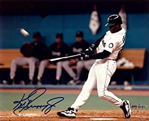 Ken Griffey Jr. Autographed Signed 8x10 Photo Seattle Mariners UDA by Upper+Deck+Authenticated
