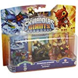 Figurine Skylanders : Giants - Zap + Scorpion Striker + Hot Dog
