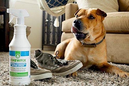 big 32oz extra strength pet chew repellent chewfix bitter spray best deterrent for cat dog. Black Bedroom Furniture Sets. Home Design Ideas