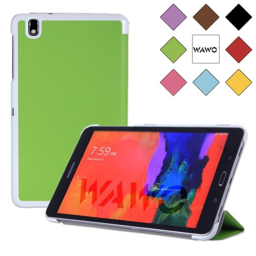 Wawo Samsung Tablet Fold Case (For Galaxy Tab Pro 8.4, Green) front-1052427