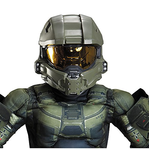 Disguise Master Chief Child Full Helmet Costume
