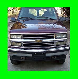 1995 1999 chevrolet chevy tahoe chrome grill. Black Bedroom Furniture Sets. Home Design Ideas
