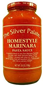 Silver Palate Pasta Sauce Homestyle Marinara 25 oz. (Pack of 6)