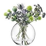 LSA (エルエスエー)G1161-24-301 GLOBE フラワーベース (花器) CLEAR