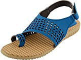 Mgz Girls Synthetic blue Outdoor Sandals (6 UK)