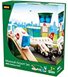 BRIO BRI-33301 Rail Monorail Airport Set