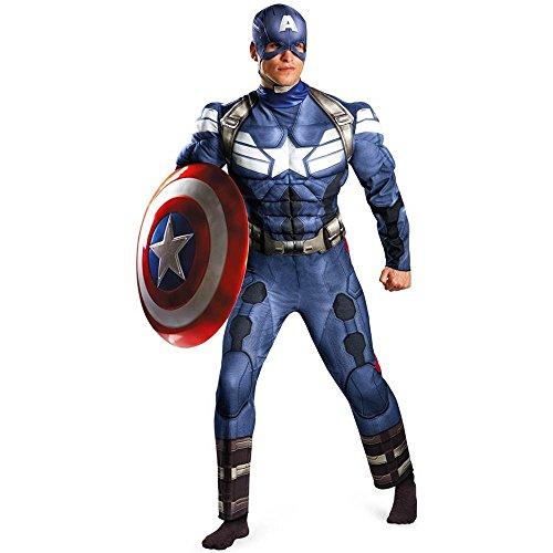 Captain America: Winter Soldier Muscle Plus Size Costume - 50-52