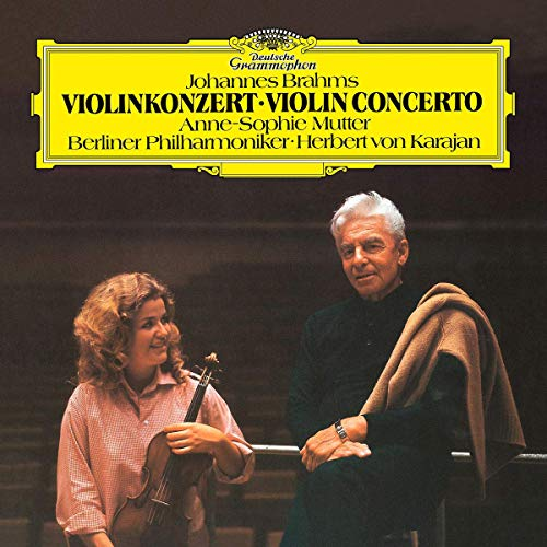 Vinilo : BRAHMS / MUTTER / BERLINER PHILHARMONIKER / KARAJA - Violin Concerto In D Op 77
