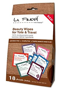 La Fresh Eco Beauty Tote & Travel Pack, 18 Count