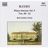 Haydn: Piano Sonatas 48, 49, 50, 51, 52