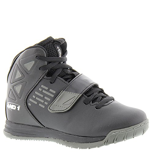 AND 1 Kids' Tempest Boys AU Skate Shoe, Black/Black/Gunmetal, 6 M US Big Kid