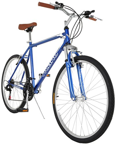 Read About Vilano C1 Comfort Road Bike Shimano 21 Speeds 26 Wheels, Blue