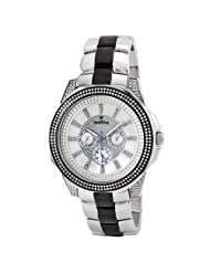 "JBW-Just Bling Men's JB-6212-200-C ""Excalibur"" Two-Tone Multifunction Diamond Watch"