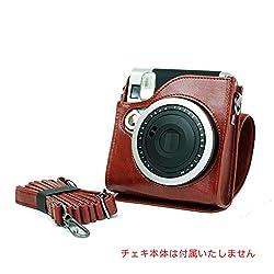 Cheki instax mini90 dedicated Ever ready case (Brown)