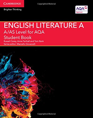 A/AS Level English Literature A for AQA Student Book (A Level (AS) English Literature AQA)