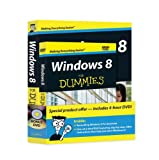 img - for Windows 8 For Dummies Book + DVD Bundle book / textbook / text book