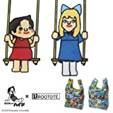 deuse 低燃費少女ハイジ×ROO-shopper 限定コラボエコバッグ 文原聡デザイン