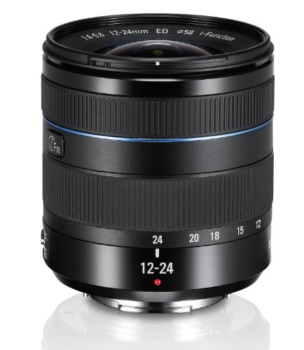 Samsung 12-24mm F4-5.6 i-Function Lens for Wide Scenery Zoom Black Friday & Cyber Monday 2014