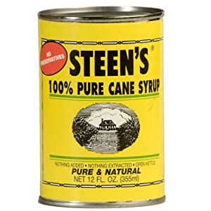 Cane Syrup - Steen's 100% Pure - 12 Fl 0z. can