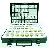 Schlage & Kwikset 2n1 Pro Pin Kit for Re-keying (Metal) ~ Schlage