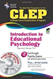 img - for CLEP  Introduction to Educational Psychology w/CD (CLEP Test Preparation) by Dr. Raymond E. Webster Ph.D. (2005-11-14) book / textbook / text book