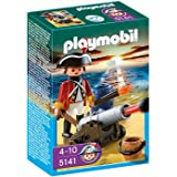 PLAYMOBIL Redcoat Guard with Cannon