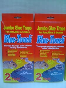 New 2 Boxes of Glue Traps Mice Rat Snake Catch