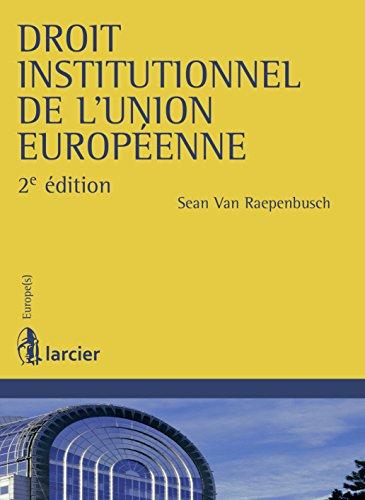 Droit institutionnel de l'Union européenne (Europe(s))