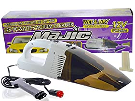 Majic 12V - 90W Wet & Dry Auto Vacuum Cleaner with 9 ft Car Power Cord