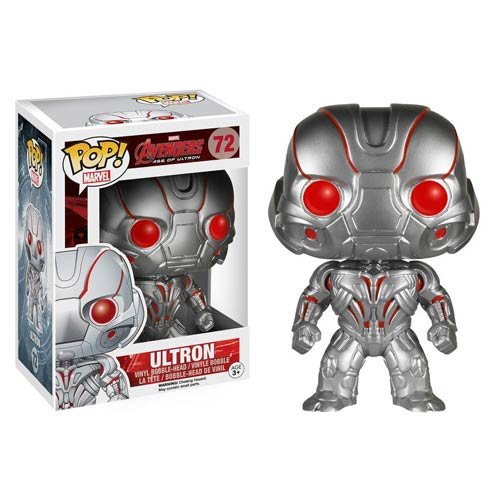 New Avengers Age of Ultron Ultron Pop! Vinyl Bobble Head Figure 72 - 1