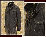 インジアティック IN THE ATTIC ライダースジャケット メンズ 123-1457-2 ブラック L