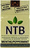 NTB Herbal Cigarettes (Menthol) 20 Cigarettes (20 Tobacco-Free Herbal Cigarettes)