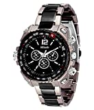 #10: Mikado Analogue Black Dial Men's Watch -RS2