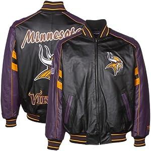 Minnesota Vikings Leather Jackets by NFL