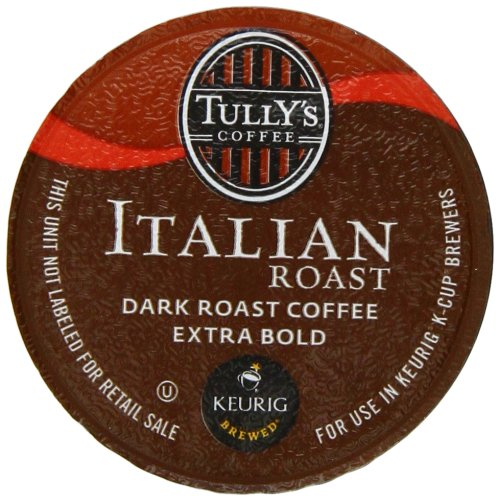 Tully's Italian Roast K-Cup packs for Keurig