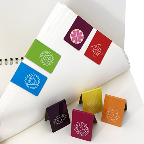 Magnetic Bookmarks - Beautiful Chakra Symbols