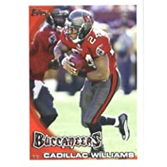 2010 Topps NFL Football Card # 212 Cadillac Williams - Tampa Bay Buccaneers - NFL...