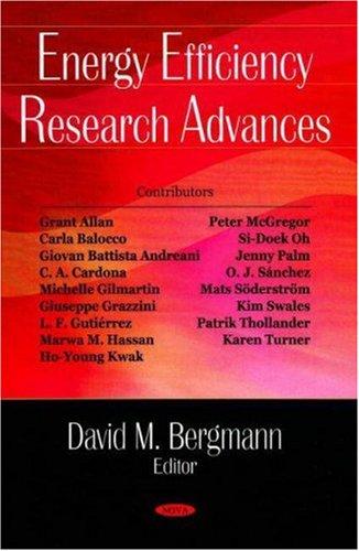 Energy Efficiency Research Advances
