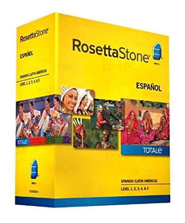 Rosetta Stone Spanish (Latin America) Level 1-5 Set - includes 12-month Mobile/Studio/Gaming Access